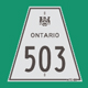 Hwy 503 Sign Graphic