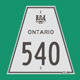Hwy 540 Sign Graphic