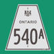 Hwy 540A Sign Graphic