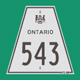 Hwy 543 Sign Graphic