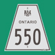 Hwy 550 Sign Graphic