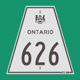 Hwy 626 #1 Sign Graphic