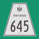 Hwy 645 Sign Graphic