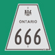 Hwy 666 Sign Graphic
