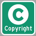 Hyperlink to Website Terms of Use and Copyright Info Page