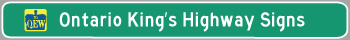 Hyperlink to King's Highway Signs Page