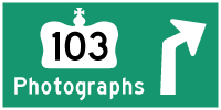 HYPERLINK TO HWY 103 PHOTOGRAPHS PAGE - © Cameron Bevers