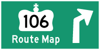 HYPERLINK TO HWY 106 ROUTE MAP PAGE - © Cameron Bevers
