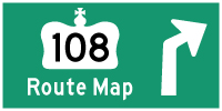 HYPERLINK TO HWY 108 #2 ROUTE MAP PAGE - © Cameron Bevers