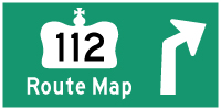 HYPERLINK TO HWY 112 ROUTE MAP PAGE - © Cameron Bevers