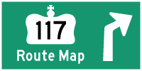 HYPERLINK TO HWY 117 #2 ROUTE MAP PAGE - © Cameron Bevers