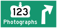 HYPERLINK TO HWY 123 #1 PHOTOGRAPHS PAGE - © Cameron Bevers