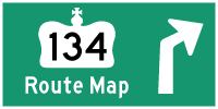 HYPERLINK TO HWY 134 #2 ROUTE MAP PAGE - © Cameron Bevers