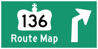 HYPERLINK TO HWY 136 ROUTE MAP PAGE - © Cameron Bevers