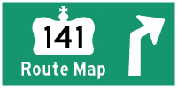 HYPERLINK TO HWY 141 ROUTE MAP PAGE - © Cameron Bevers