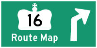 HYPERLINK TO HWY 16 ROUTE MAP PAGE - © Cameron Bevers