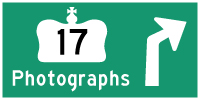 HYPERLINK TO HWY 17 PHOTOGRAPHS PAGE - © Cameron Bevers