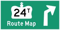 HYPERLINK TO HWY 24T ROUTE MAP PAGE - © Cameron Bevers