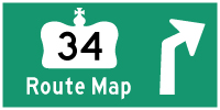 HYPERLINK TO HWY 34 ROUTE MAP PAGE - © Cameron Bevers
