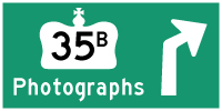 HYPERLINK TO HWY 35B LINDSAY PHOTOGRAPHS PAGE - © Cameron Bevers