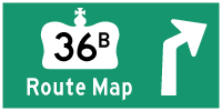 HYPERLINK TO HWY 36B ROUTE MAP PAGE - © Cameron Bevers