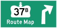 HYPERLINK TO HWY 37B ROUTE MAP PAGE - © Cameron Bevers