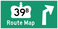 HYPERLINK TO HWY 39B ROUTE MAP PAGE - © Cameron Bevers