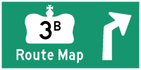 HWY 3B WINDSOR ROUTE MAP - © Cameron Bevers