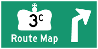 HYPERLINK TO HWY 3C ROUTE MAP PAGE - © Cameron Bevers