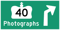 HYPERLINK TO HWY 40 PHOTOGRAPHS PAGE - © Cameron Bevers