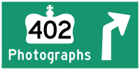 HYPERLINK TO HWY 402 PHOTOGRAPHS PAGE - © Cameron Bevers