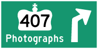 HYPERLINK TO HWY 407 PHOTOGRAPHS PAGE - © Cameron Bevers