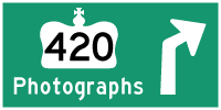 HYPERLINK TO HWY 420 PHOTOGRAPHS PAGE - © Cameron Bevers