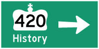 HYPERLINK TO HWY 420 PAGE - © Cameron Bevers