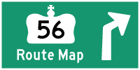 HYPERLINK TO HWY 56 ROUTE MAP PAGE - © Cameron Bevers
