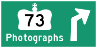 HYPERLINK TO HWY 73 PHOTOGRAPHS PAGE - © Cameron Bevers