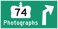 HYPERLINK TO HWY 74 PHOTOGRAPHS PAGE - © Cameron Bevers