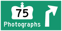 HYPERLINK TO HWY 75 #1 PHOTOGRAPHS PAGE - © Cameron Bevers
