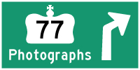HWY 77 #2 PHOTOGRAPHS - © Cameron Bevers