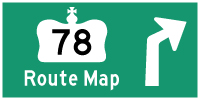 HYPERLINK TO HWY 78 ROUTE MAP PAGE - © Cameron Bevers