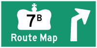 HYPERLINK TO HWY 7B MADOC ROUTE MAP PAGE - © Cameron Bevers