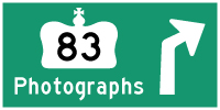 HYPERLINK TO HWY 83 PHOTOGRAPHS PAGE - © Cameron Bevers