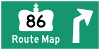 HYPERLINK TO HWY 86 ROUTE MAP PAGE - © Cameron Bevers