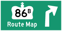 HYPERLINK TO HWY 86B ROUTE MAP PAGE - © Cameron Bevers
