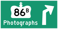 HYPERLINK TO HWY 86B PHOTOGRAPHS PAGE - © Cameron Bevers