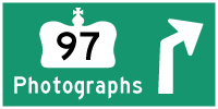HYPERLINK TO HWY 97 PHOTOGRAPHS PAGE - © Cameron Bevers