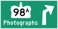 HYPERLINK TO HWY 98A PHOTOGRAPHS PAGE - © Cameron Bevers