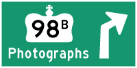 HYPERLINK TO HWY 98B PHOTOGRAPHS PAGE - © Cameron Bevers