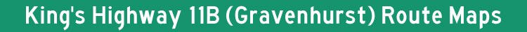 Hwy 11B Gravenhurst Title Graphic