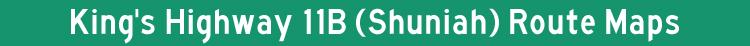 Hwy 11B Shuniah